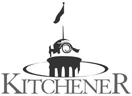 City of Kitchener logo - bw